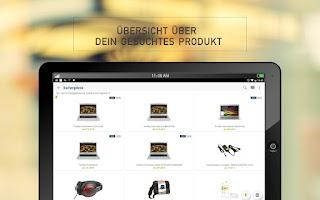 Screenshot of Preis.de Preisvergleich