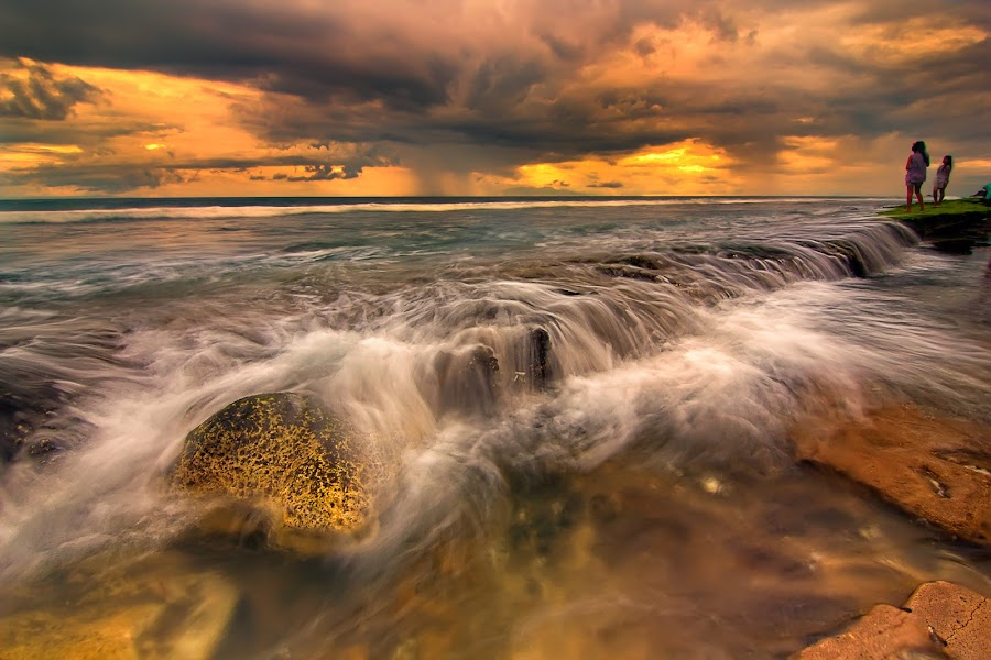 Waves Flow #2 by Eep Ependi - Landscapes Waterscapes ( lombok, landscapes )