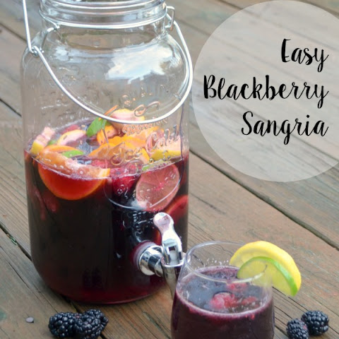 Easy Blackberry Sangria