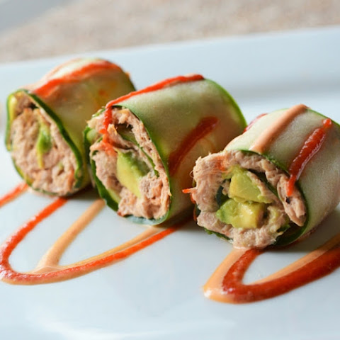 5 Minute Spicy Tuna Rolls