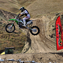 In the air by Gaylord Mink - Sports & Fitness Motorsports ( hills, bike, motocross, jump )