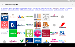 Screenshot of Max de bons plans