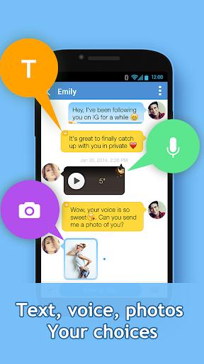 InstaMessage-Chat,meet,hangout - screenshot