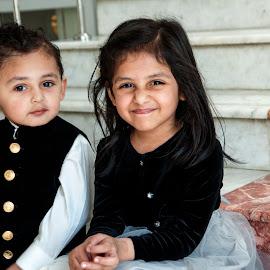 Siblings by Sara  Ali - Babies & Children Child Portraits ( happy, child portrait, children, candid, childhood, cute )