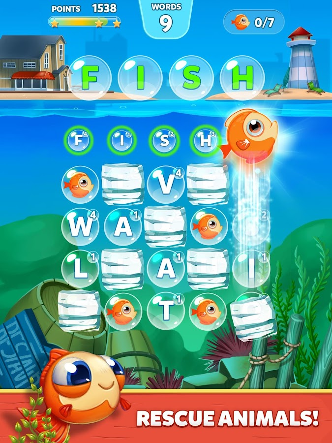 Bubble Words - Letter Splash Screenshot 13