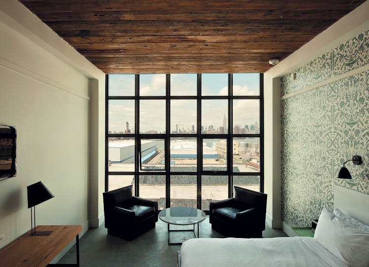 Interior of Wythe Hotel