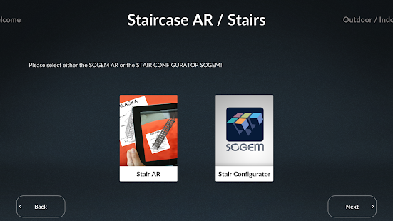 SOGEM Stair Configurator - screenshot