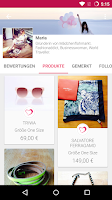 Screenshot of Mädchenflohmarkt