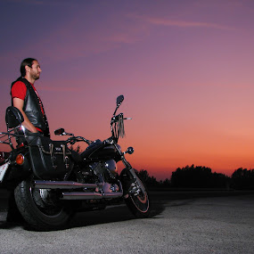 Life on road by Mario Novak - Transportation Motorcycles