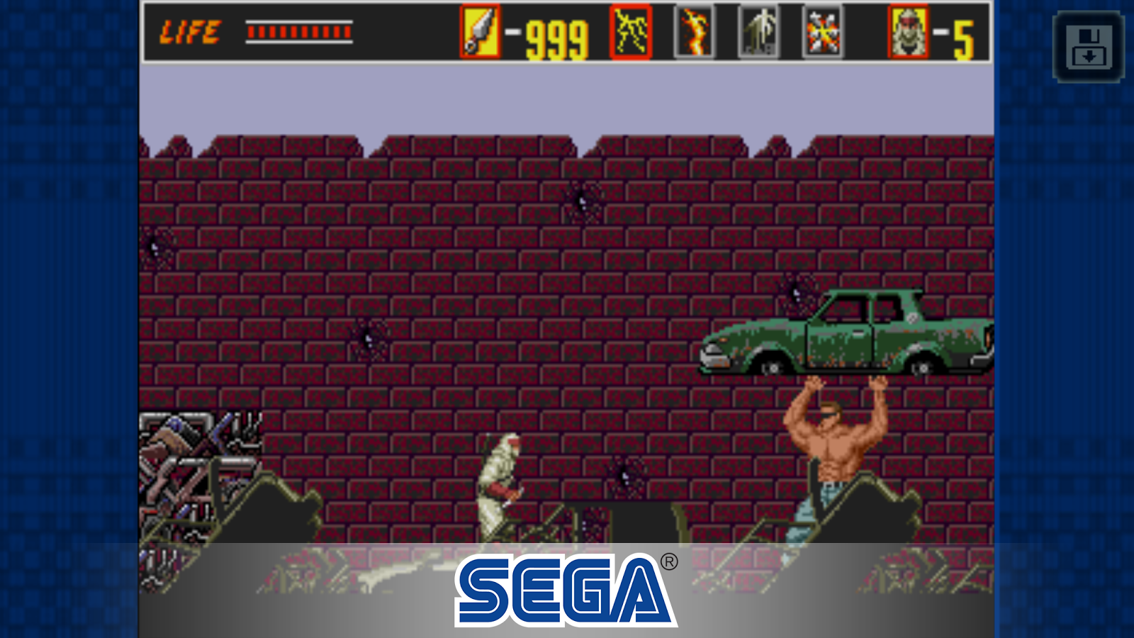 The Revenge of Shinobi Classic Screenshot 3