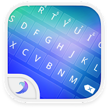 Emoji Keyboard-Magic Blue