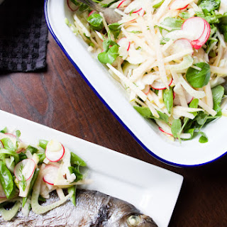Apple And Fennel Coleslaw Salad