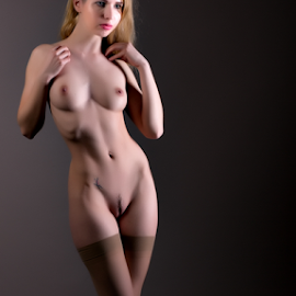 Brunutty by Adriaan Oosthuizen - Nudes & Boudoir Boudoir ( full frontal, stockings, brunutty, rampix photography, kayleigh rose, @rampix_mk, #rampix )