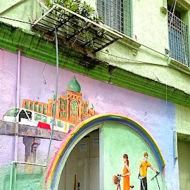 Street Art by Jo-Ann Tan - City,  Street & Park  Historic Districts