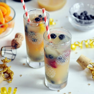 Blueberry Champagne Punch Recipes