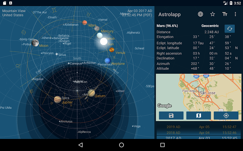 Astrolapp Live Planets and Sky Map Screenshot 13