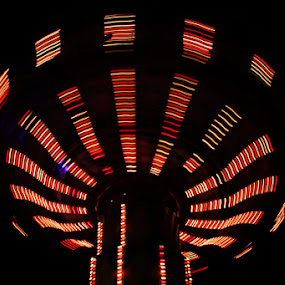 Ufo by Joseph Basukarno - Abstract Light Painting