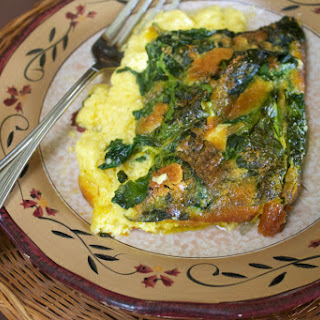 Spinach Curry Eggs