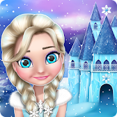 Ice Princess Doll House Games APK Icon