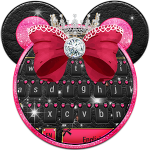 Download Minny Cute Pink Bowknot Keyboard for PC