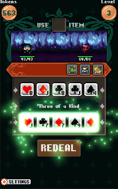 Pixel Poker Battle Screenshot 4