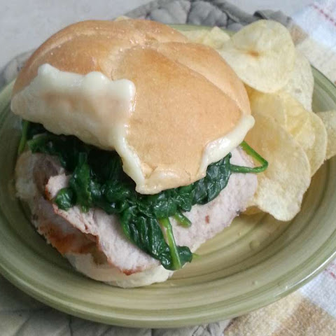 Garlic & Herb Pork Sandwich