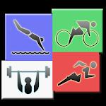 Megathlon : triathlon training Icon