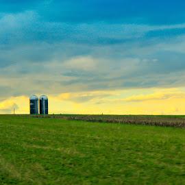 by Lydia Sutanto - Landscapes Prairies, Meadows & Fields