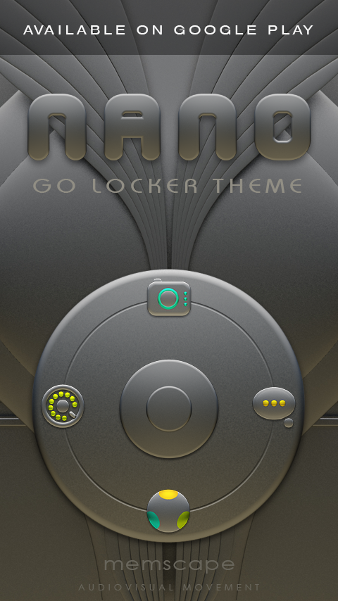 NANO Next Launcher 3D Theme Screenshot 6