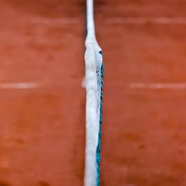 Tennis court by Andrej Žnideršič - Sports & Fitness Tennis ( court tennis red )