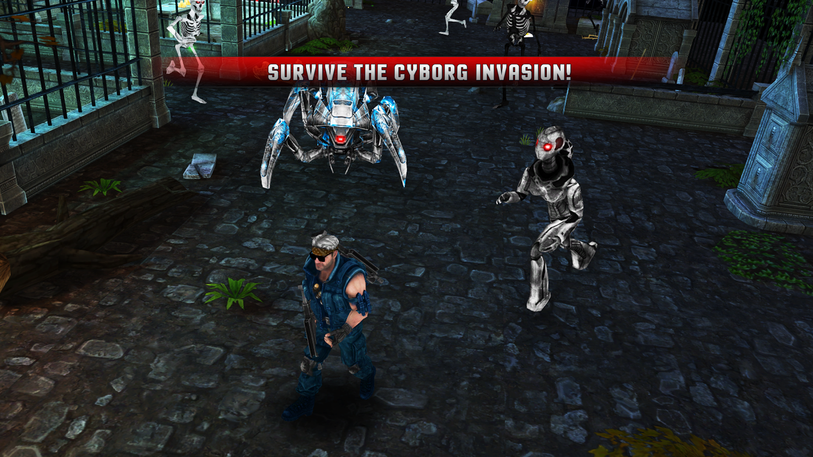 Cyborg Assassin Screenshot 4
