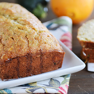 Zucchini Bread With Orange Juice Recipes