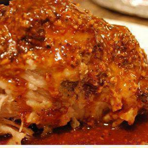 Crock Pot Parmesan Honey Pork Roast