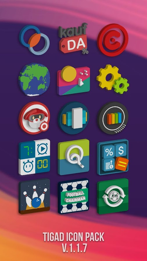 Tigad Pro Icon Pack Screenshot 4