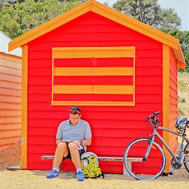 bb by Glen John Terry  - Sports & Fitness Cycling ( hut, beach,  )