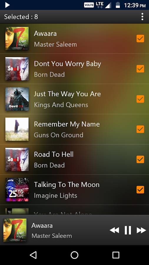 PowerAudio Pro Music Player Screenshot 5