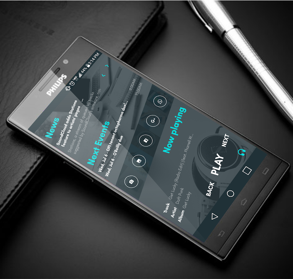 VisualHome for KLWP Screenshot 2