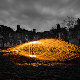 by Ian McGuirk - Abstract Light Painting