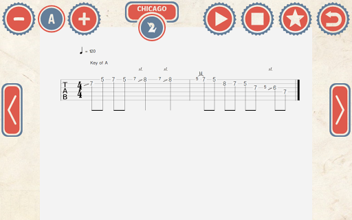 144 Blues Guitar Licks: Pro - screenshot