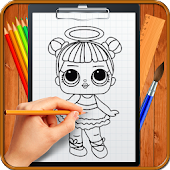 4.  Learn How to Draw Cute Surprise Dolls