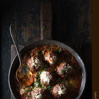 Cinnamon Meatballs with Marinara Sauce