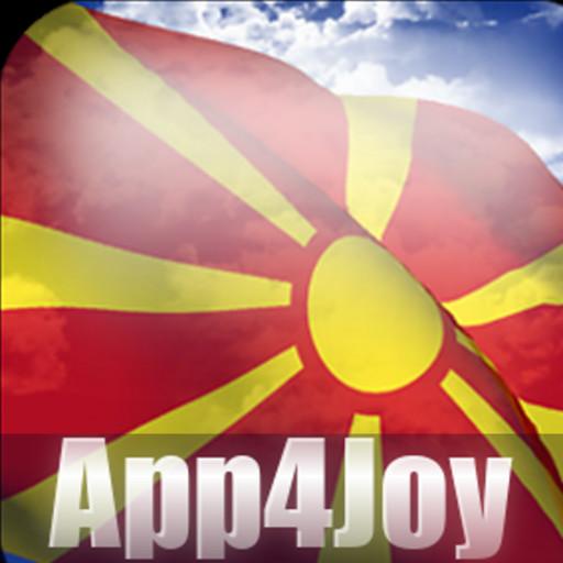 Android aplikacija 3D Macedonia Flag Live Wallpaper na Android Srbija