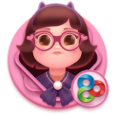 Fancy Pink GO Launcher