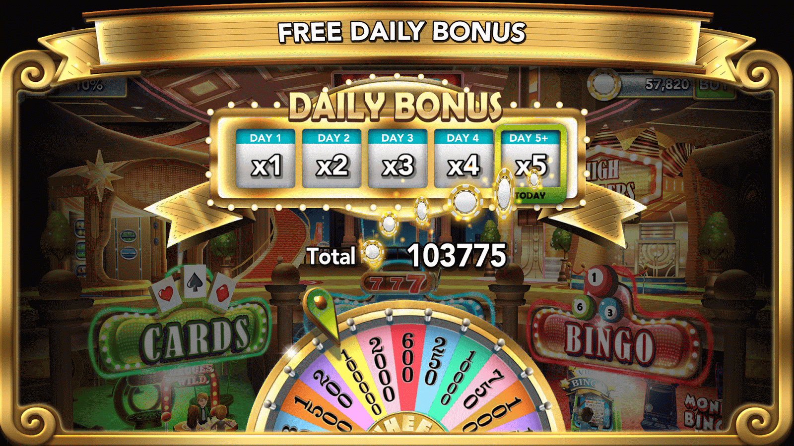 GSN Grand Casino - FREE Slots Screenshot 7
