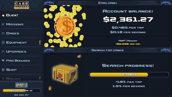 Case Clicker 2 - Custom cases! Screenshot