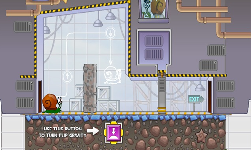 Snail Bob: Space venture - screenshot
