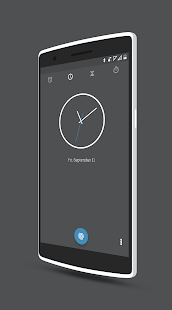 Paradox Blue - CM12.1 Theme Screenshot