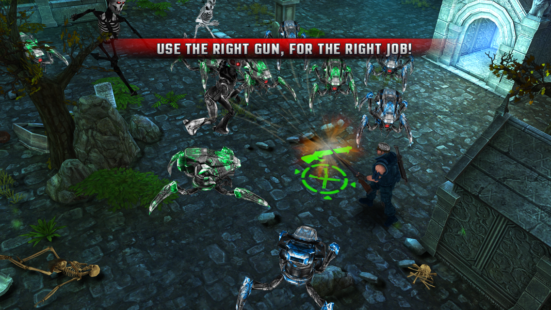 Cyborg Assassin Screenshot 1
