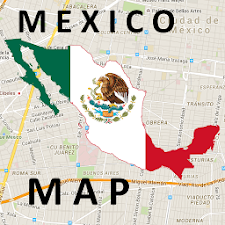 Mexico Cancun Map
