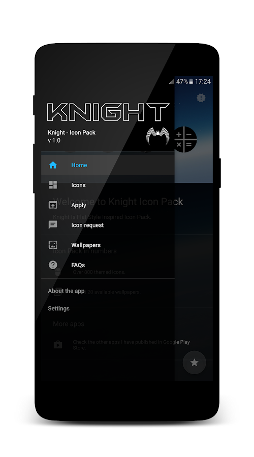 Knight - Icon Pack Screenshot 6